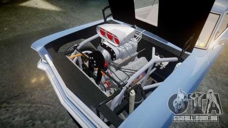 Chevrolet II Nova SS 1966 Custom [EPM] PJ2 para GTA 4 vista interior