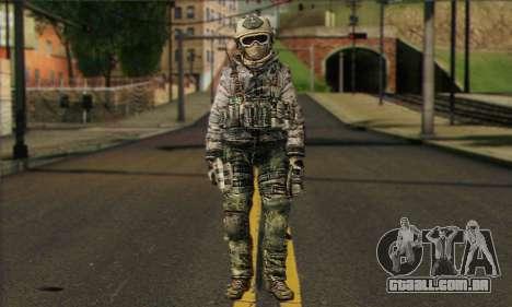 Task Force 141 (CoD: MW 2) Skin 1 para GTA San Andreas
