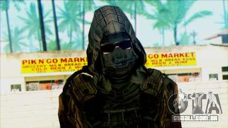 Um soldado da equipe de 4 Phantom para GTA San Andreas terceira tela