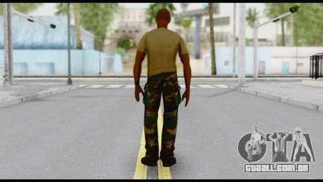 Army Vic para GTA San Andreas segunda tela
