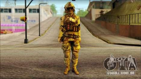 USAss from BF4 para GTA San Andreas