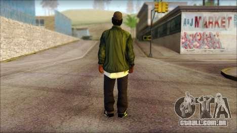 Eazy-E Green Skin v1 para GTA San Andreas segunda tela