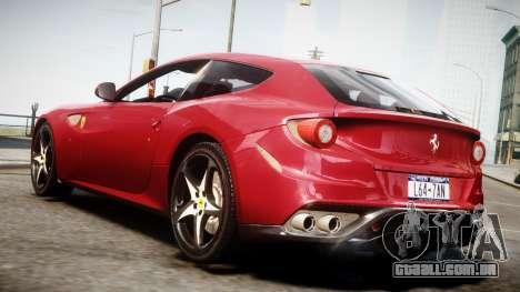 Ferrari FF 2011 v1.5 para GTA 4 esquerda vista