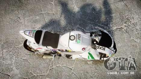 Honda RC211V para GTA 4 vista direita