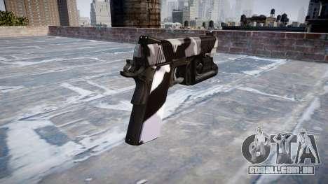 Arma Kimber 1911 Sibéria para GTA 4 segundo screenshot