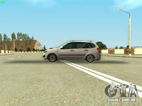 Lada Kalina 2 Vagão para GTA San Andreas vista traseira