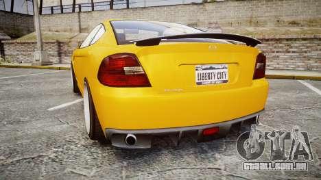 GTA V Bollokan Prairie Wheel1 para GTA 4 traseira esquerda vista