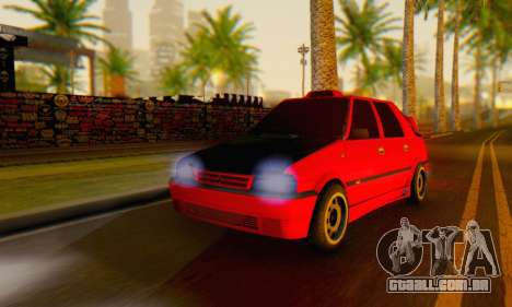 Dacia Super Nova Tuning para GTA San Andreas esquerda vista