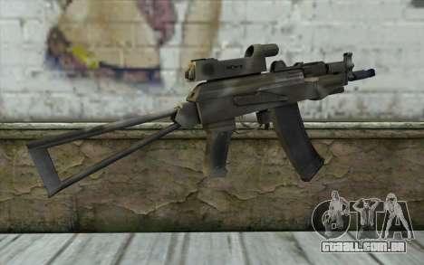 AK74U from Battlefield 2 para GTA San Andreas segunda tela