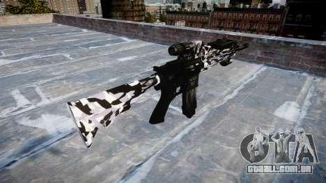 Automatic rifle Colt M4A1 sibéria para GTA 4 segundo screenshot