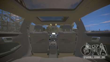 A Mercedes-Benz E63 AMG для GTA 4 para GTA 4 vista lateral