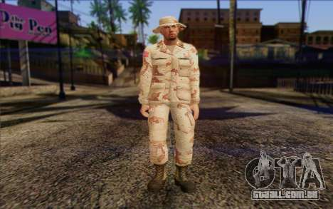 California National Guard	 Skin 1 para GTA San Andreas