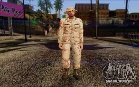 California National Guard Skin 1 para GTA San Andreas