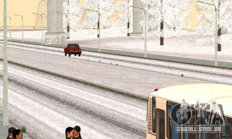 A neve para GTA Penal Rússia beta 2 para GTA San Andreas segunda tela