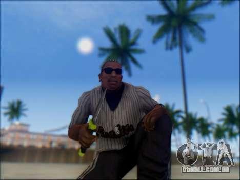 Dive para GTA San Andreas por diante tela