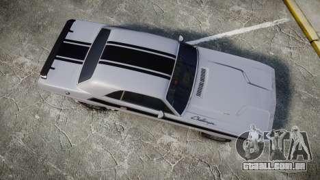 Dodge Challenger 1971 v2.2 PJ3 para GTA 4 vista direita