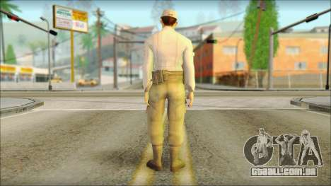 Abstergo security BETA para GTA San Andreas segunda tela