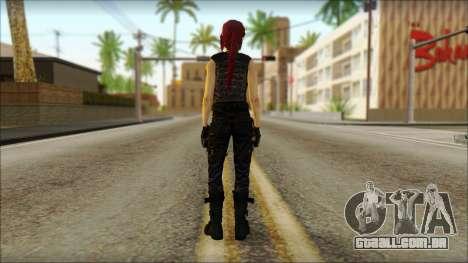 Tomb Raider Skin 14 2013 para GTA San Andreas segunda tela