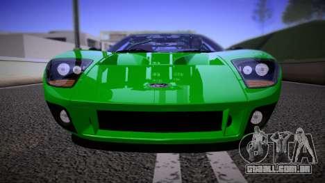 Ford GT 2005 Road version para GTA San Andreas vista traseira