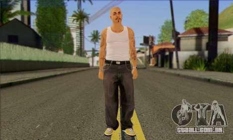 Vagos from GTA 5 Skin 2 para GTA San Andreas