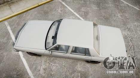 Chevrolet Impala 1985 para GTA 4 vista direita