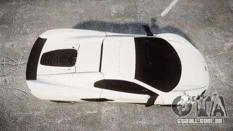 McLaren 650S Spider 2014 [EPM] Bridgestone v3 para GTA 4 vista direita