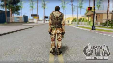 Soviet Soldier para GTA San Andreas segunda tela