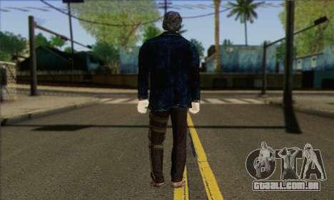 Damien from Watch Dogs para GTA San Andreas segunda tela