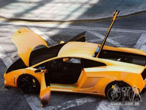 Lamborghini Gallardo LP560-4 para GTA 4 vista de volta