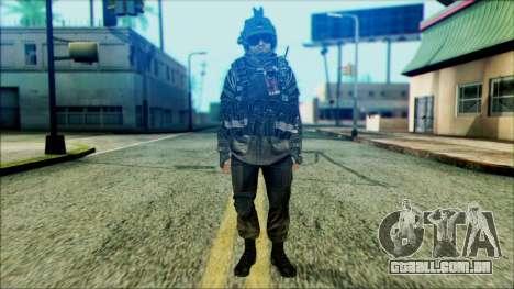 Soldados a bordo (CoD: MW2) v5 para GTA San Andreas