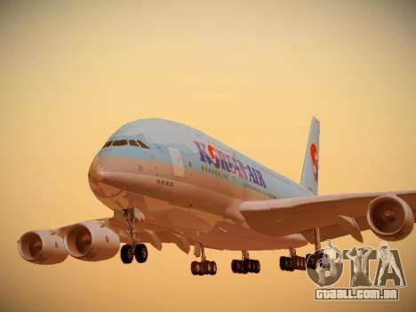 Airbus A380-800 Korean Air para GTA San Andreas