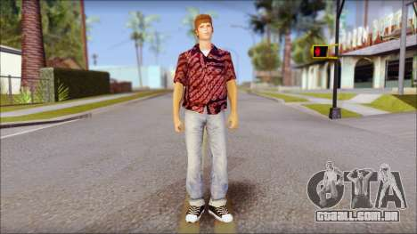 Marty from Back to the Future 1955 para GTA San Andreas