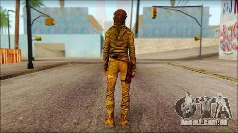 Tomb Raider Skin 6 2013 para GTA San Andreas segunda tela