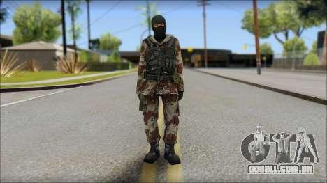 Soviet Soldier para GTA San Andreas