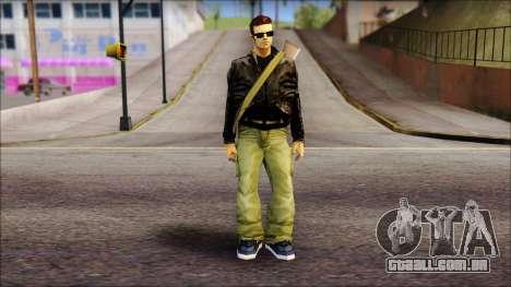 Shades and Gun Claude v2 para GTA San Andreas