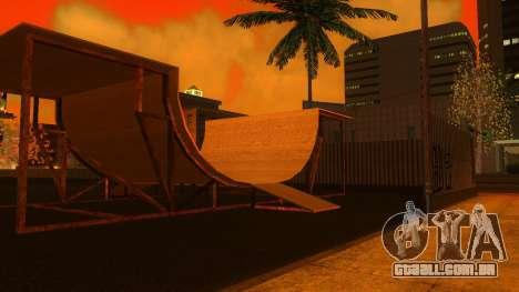 Texturas HD skate Park e hospital V2 para GTA San Andreas oitavo tela