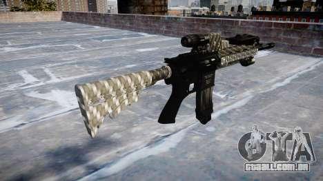 Automatic rifle Colt M4A1 de fibra de carbono para GTA 4 segundo screenshot
