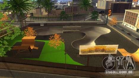 Texturas HD skate Park e hospital V2 para GTA San Andreas sétima tela