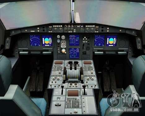 Airbus A340-313 Olympic Airlines para GTA San Andreas interior