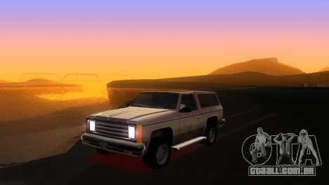 Bright ENB Series v0.1 Alpha by McSila para GTA San Andreas segunda tela