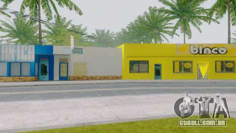 Novas texturas para Binco na grove street para GTA San Andreas terceira tela