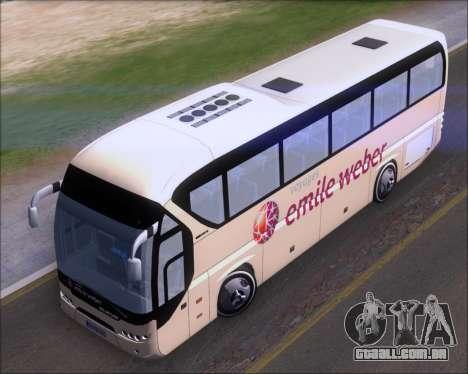 Neoplan Tourliner Emile Weber para GTA San Andreas vista traseira