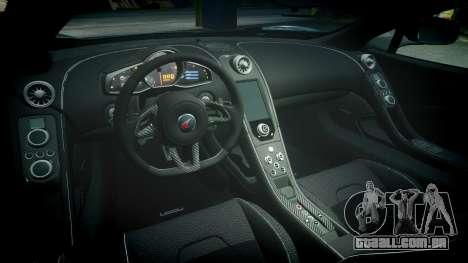 McLaren 650S Spider 2014 [EPM] Michelin v5 para GTA 4 vista interior