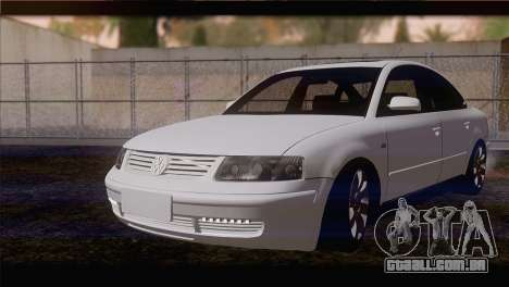 Volkswagen Passat B5 para GTA San Andreas
