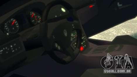 Maserati Gran Turismo MC Stradale 2014 para GTA 4 vista interior