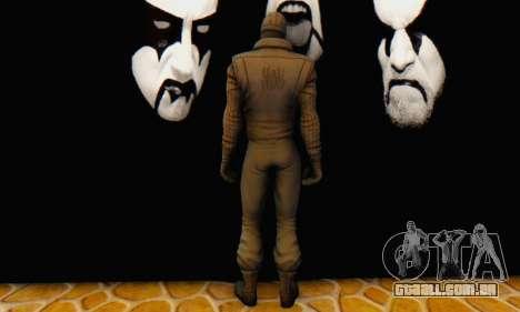 Skin The Amazing Spider Man 2 - DLC Noir para GTA San Andreas quinto tela