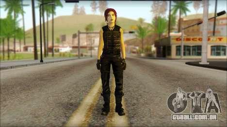 Tomb Raider Skin 14 2013 para GTA San Andreas