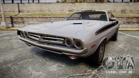 Dodge Challenger 1971 v2.2 PJ3 para GTA 4