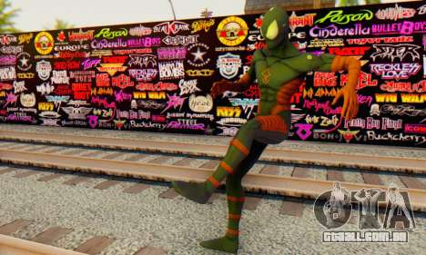 Skin The Amazing Spider Man 2 - DLC Anti-Electro para GTA San Andreas por diante tela