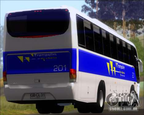 Marcopolo Andare Class Mercedes-Benz OF1721 para GTA San Andreas vista superior